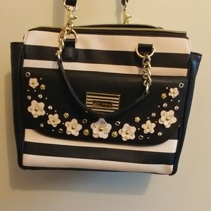 Betsey Johnson Black and White Bag